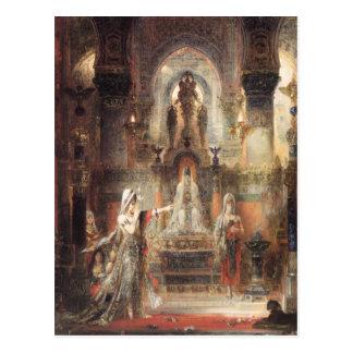 Cartão Postal Dança de Salome antes de Herod