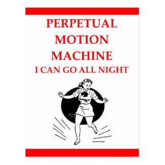 Cartão Postal dança de torneira