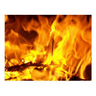 Cartão Postal Dança do fogo