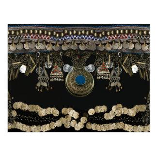 Cartão Postal Dança do ventre tribal de Kuchi
