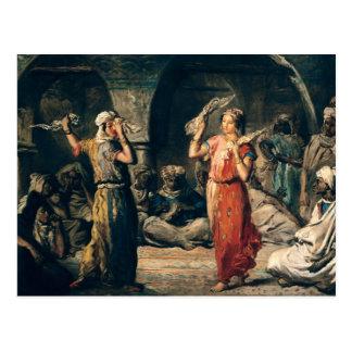 Cartão Postal Dança dos lenços, 1849