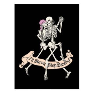 Cartão Postal Dança para sempre