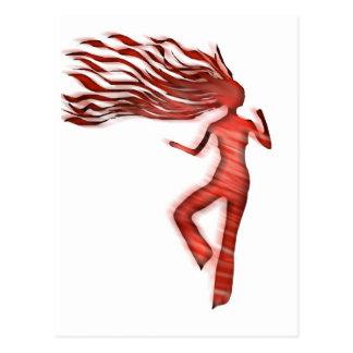 Cartão Postal dançarino 2