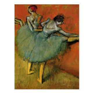 Cartão Postal Dançarinos de Edgar Degas | no endereço novo do