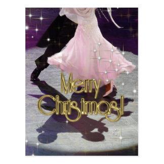 Cartão Postal Dançarinos do Feliz Natal