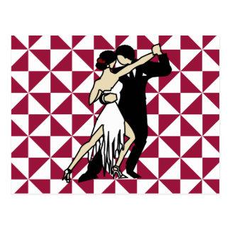 Cartão Postal Dançarinos do tango