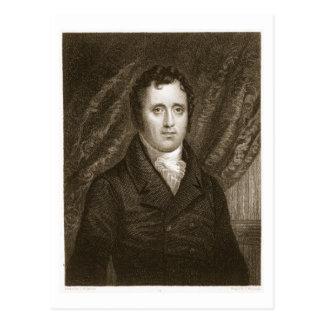 Cartão Postal Daniel D. Tompkins (1774-1825) gravado por Thomas