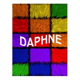 CARTÃO POSTAL DAPHNE