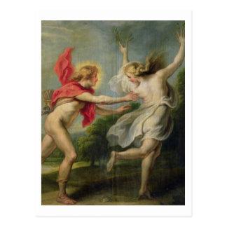 Cartão Postal Daphne e Apollo (óleo)