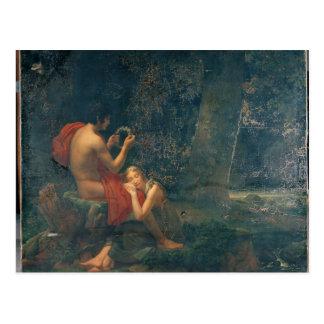 Cartão Postal Daphnis e Chloe, 1824-25