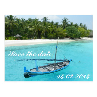 Cartão Postal Date Save the