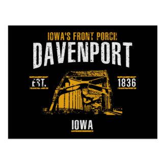Cartão Postal Davenport