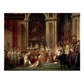 Cartão Postal David-Consagração & coroação de Jacques