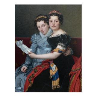 Cartão Postal David-Irmãs Zenaide de Jacques,