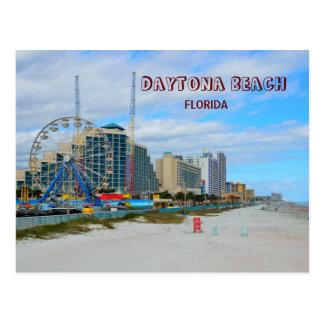 Cartão Postal Daytona Beach famosa Florida