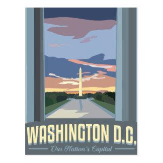 Cartão Postal DCTravelposter