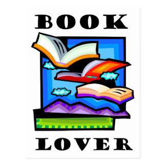 """Cartão Postal De """"amante livro"""" - livros & páginas de vôo para"""