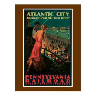 Cartão Postal ~ de Atlantic City todo o recurso do ano