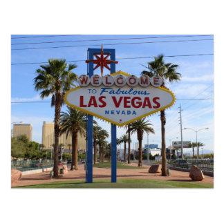 Cartão Postal Dê boas-vindas a Las Vegas ao cartão!
