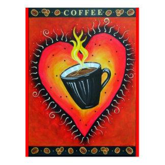 """Cartão Postal De """"cartão do amor Java"""""""