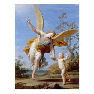 """Cartão Postal De """"cartão do anjo The Guardian"""""""