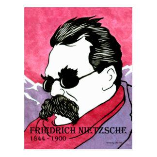 """Cartão Postal De """"cartão Friedrich Nietzsche"""""""