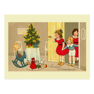 "Cartão Postal De ""cartão Herzlichen Weihnachtsgruss"""