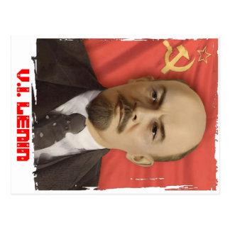 """Cartão Postal De """"cartão V.I. LENIN"""""""