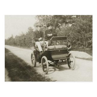 Cartão Postal De Dion Bouton 1900