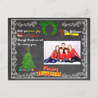 Cartão Postal De Festividades Natal do quadro