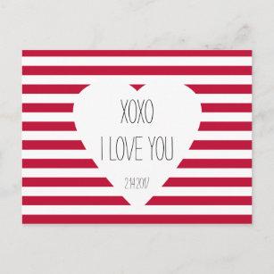 Cartão Postal De Festividades Texto do costume do tema do amor dos  namorados eu 8a24668d4461e