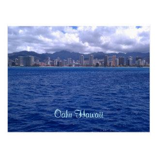 Cartão Postal De Havaí que deseja o estavam aqui!