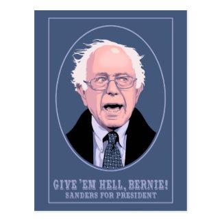 Cartão Postal Dê-lhes o inferno, Bernie
