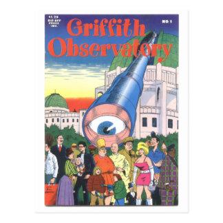 """Cartão Postal De """"obervatório"""" #1 Griffith, 1979"""