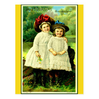 """Cartão Postal De """"os netos Lydia """""""