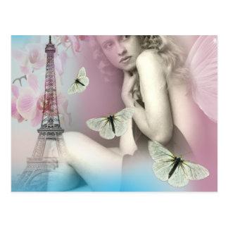 Cartão Postal De Paris com amor