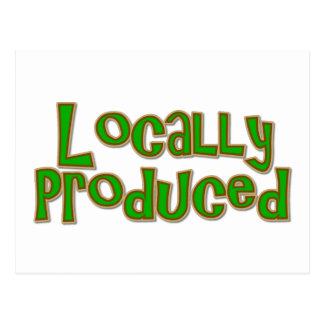 Cartão Postal De produção local
