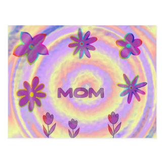 Cartão Postal De Psyched mamã para fora