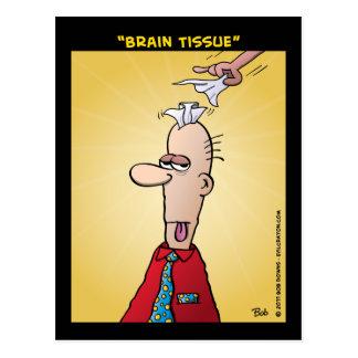 """Cartão Postal De """"tecido cérebro """""""