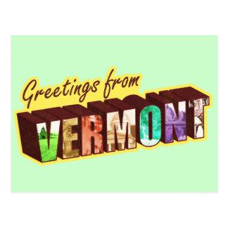 Cartão Postal ` De Vermont