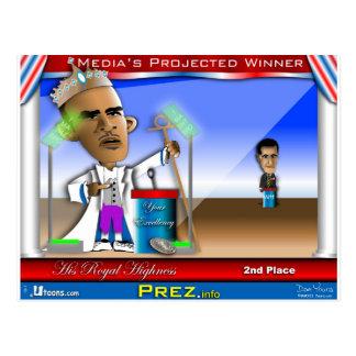 Cartão Postal Debate: O vencedor dos meios