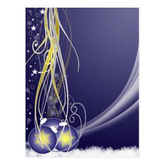 Cartão Postal Decoração do Natal