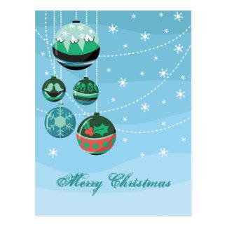 Cartão Postal Decorações do Natal
