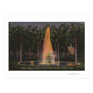 Cartão Postal Deland, Florida - universidade de Stetson