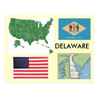 Cartão Postal Delaware, EUA
