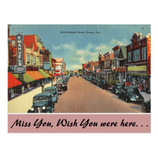 Cartão Postal Delaware, rua de Loockerman