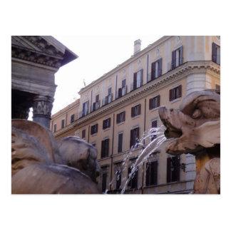 Cartão Postal Della Rotonda da praça