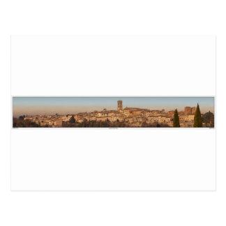 Cartão Postal d'Elsa de Toscânia - de Colle di Val