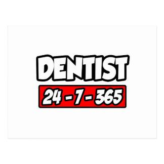 Cartão Postal Dentista 24-7-365