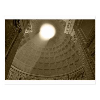 Cartão Postal Dentro do panteão, Roma
